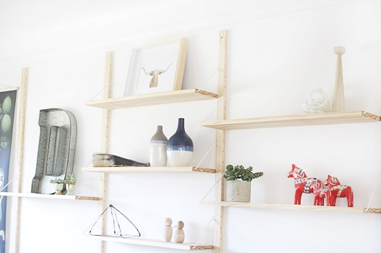Danish inspired modular shelving 2