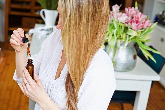 DIY Herbal Hair Serum