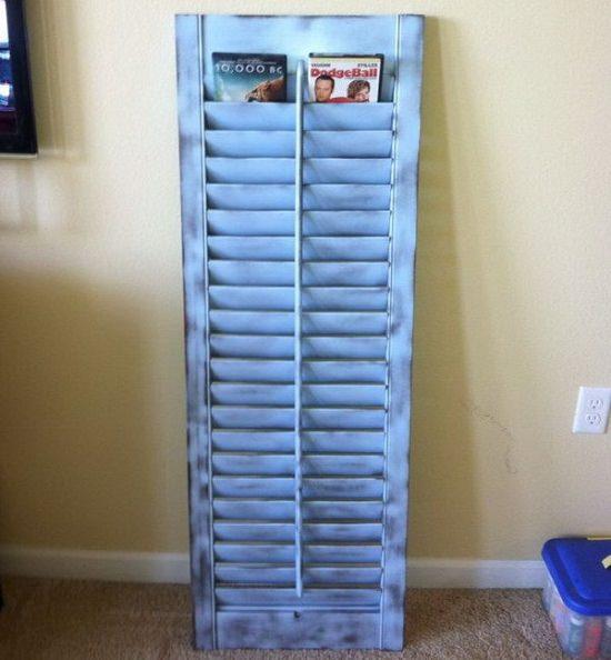 Old Shutter DVDs Organizer