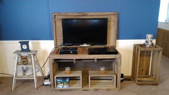 Creative DIY TV stand ideas