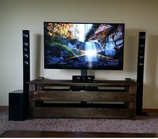 Creative DIY TV Stand Ideas5