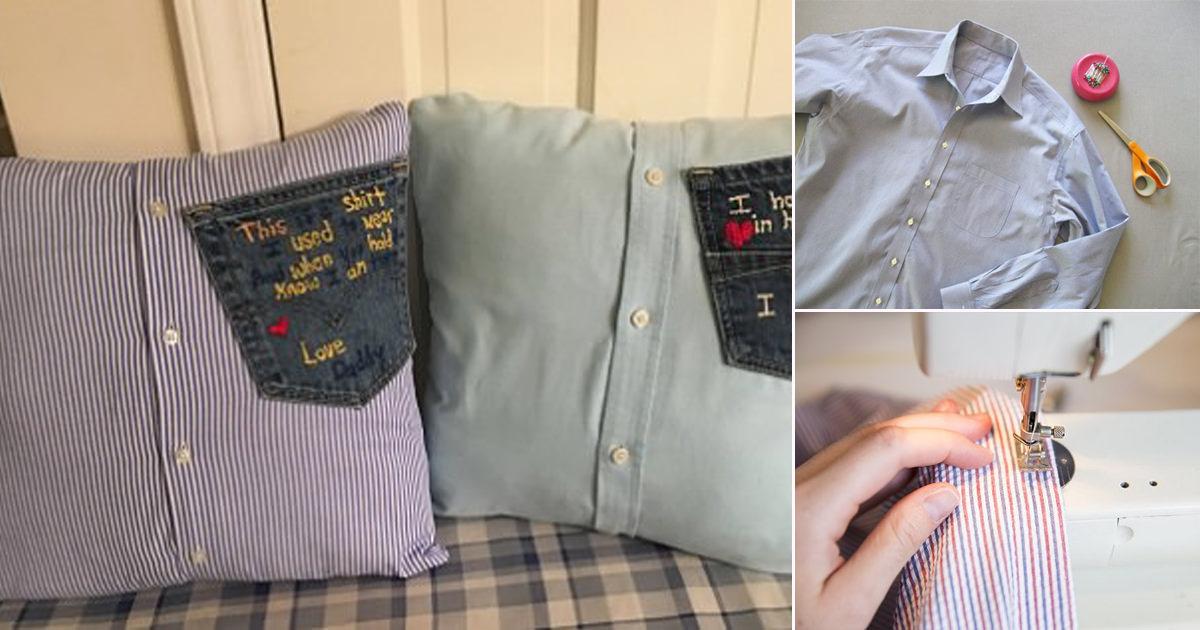 a memory pillow from a shirt