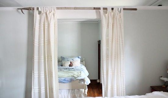 DIY Curtain Rod Ideas 3