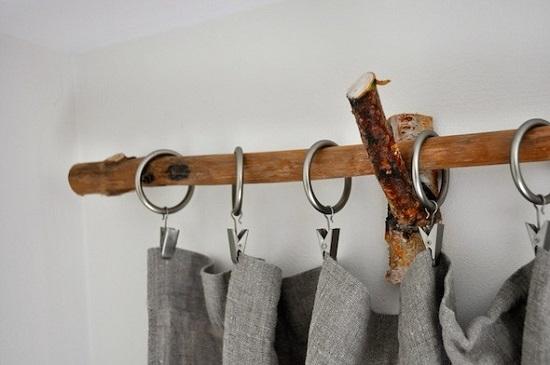 DIY Curtain Rod Ideas 2