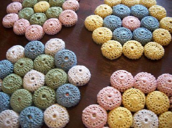 Crochet Beer Cap Hot Pad