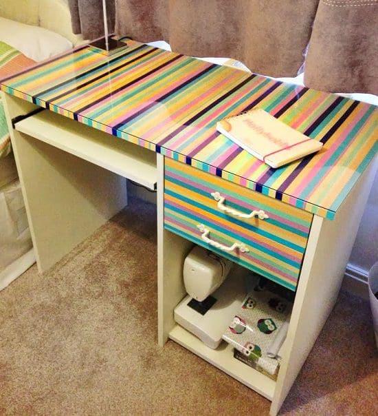 DIY Desk Cover Ideas 1