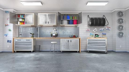 repurpose furniture in garage