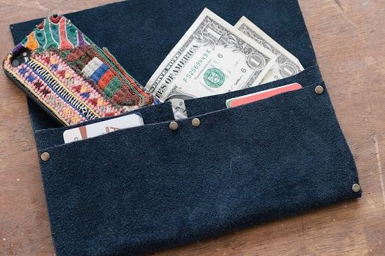 No Sew Clutch Wallet