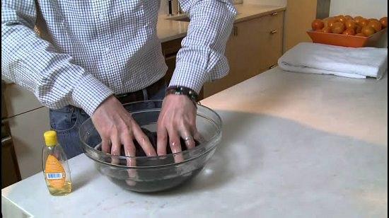 Washing Scarves