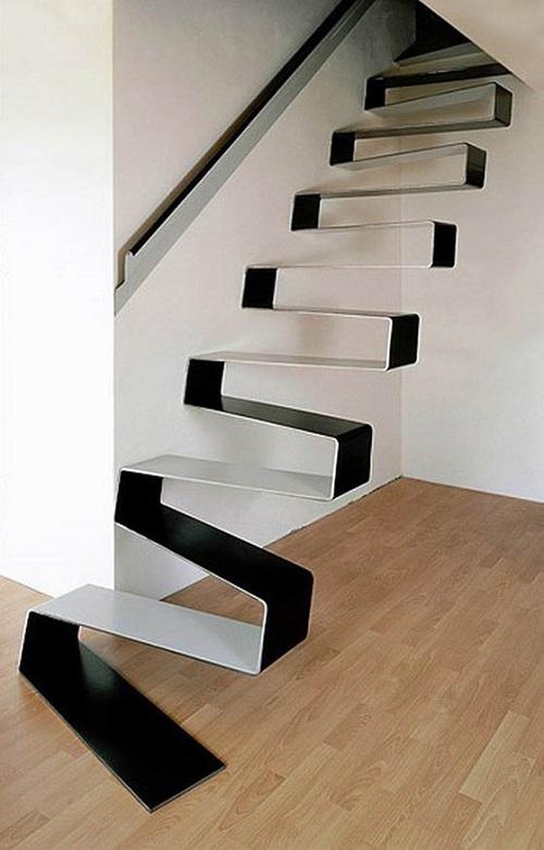 Ribbon Staircase Idea