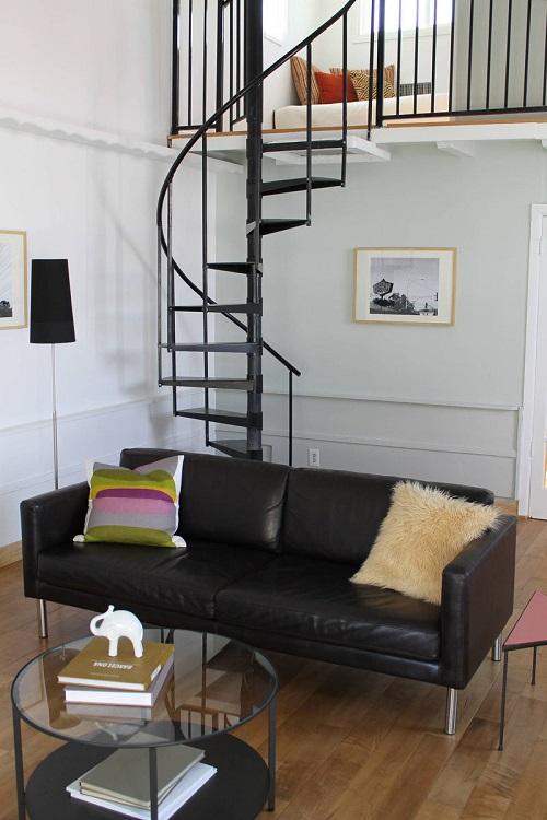 Thin Spiral Staircase Idea