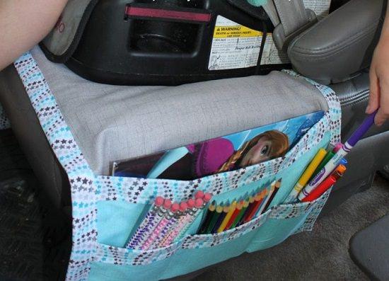 DIY Car Seat Organizer
