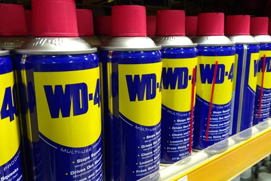 Use WD-40 Solution
