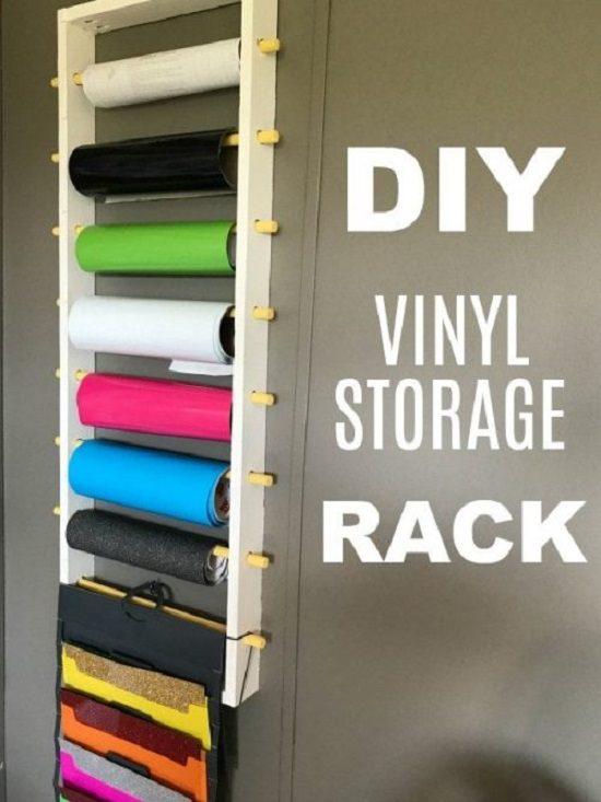 DIY Craft Vinyl Storage Ideas3