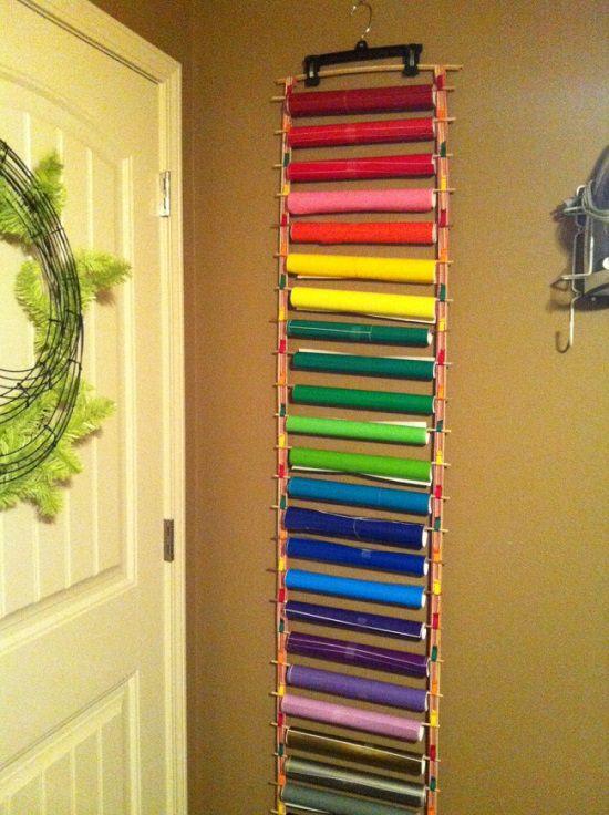DIY Wall Hanger Storage