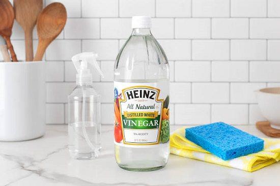 Vinegar for slime