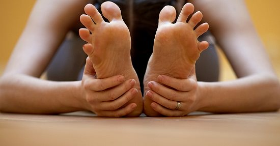 Stretched Foot