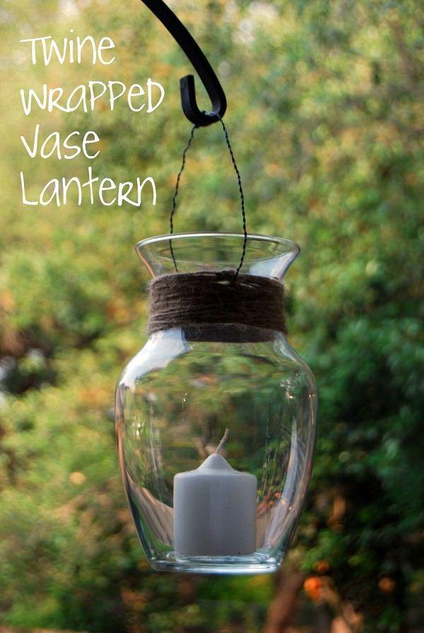 DIY Hanging Candle Lantern 2