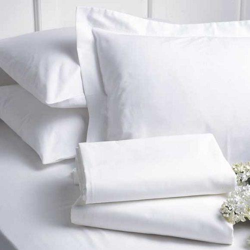 Brighten Up Old White Linens