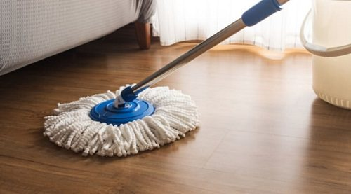 Clean Wooden Carpeted Floors