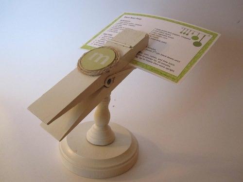 Handy Recipe Card Holder