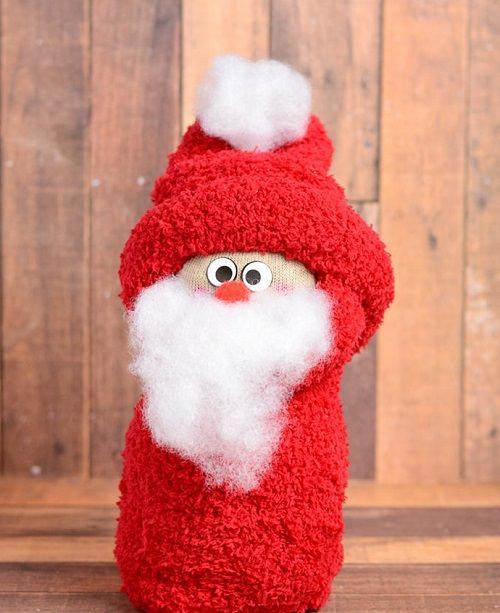 Sock Santa Claus