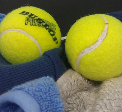Speed Up Laundry with Tennis Balls