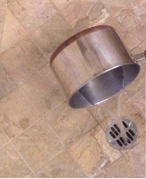 Clogged Shower Drain