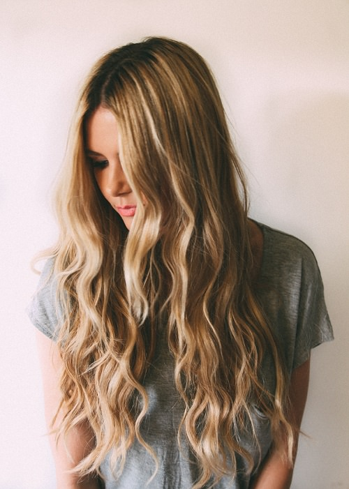 For Beachy Waves
