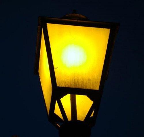 Keep Bugs away from Porch Light