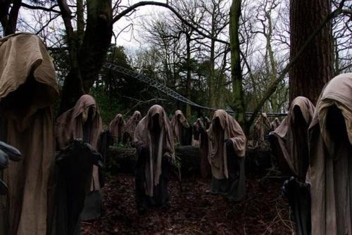 Menacing Ghost Mob