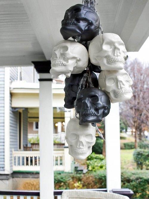 Black And White Skull Combo