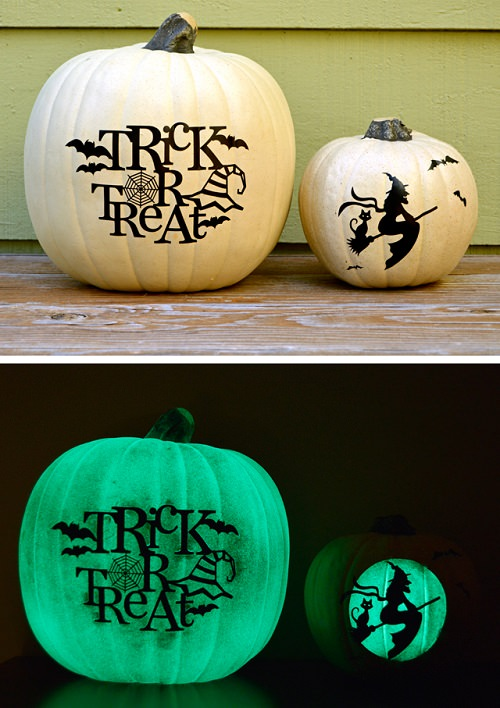 Day and Night Pumpkins