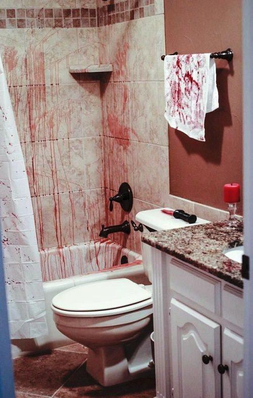 Spooky Halloween Bathroom Decorating Ideas8