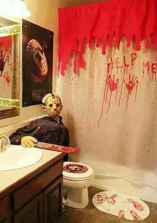 Jason Friday the 13th Halloween Decor