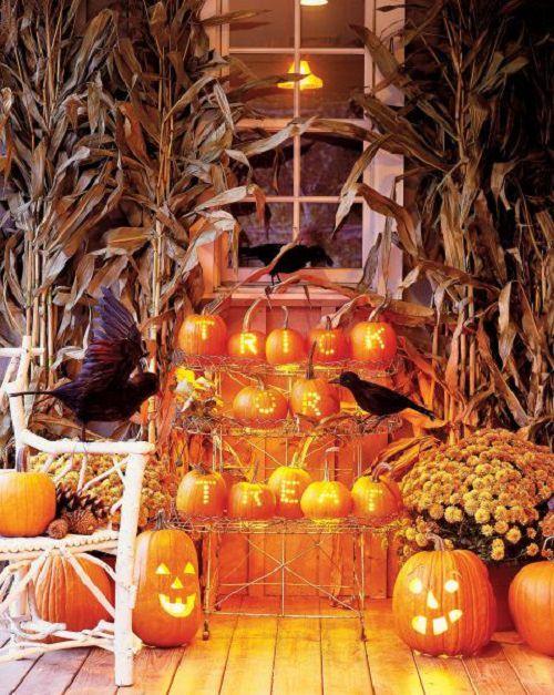 Pumpkin Halloween Greeting