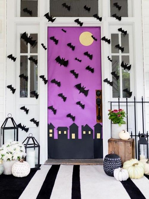 Spooky Swarm of Bats