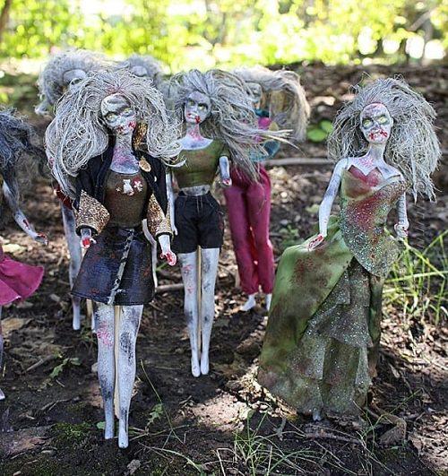 Walking Dead Beastly Barbies