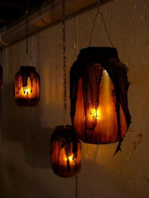 Witch Jar Lighting