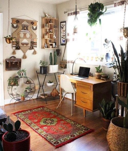 Boho Minimalist Office Inspiration 5