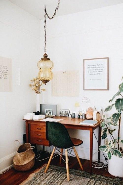 Boho Minimalist Office Inspiration 6