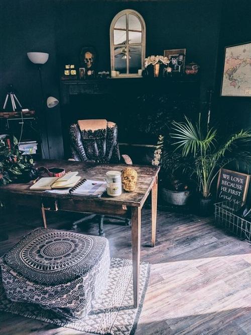 Boho Minimalist Office Inspiration 9