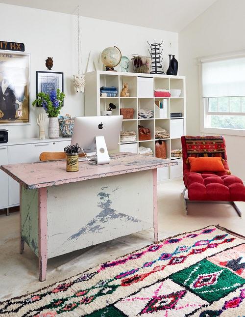 Boho Minimalist Office Inspiration 7
