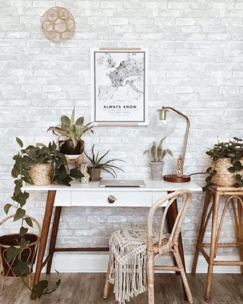 Boho Minimalist Office Inspiration 3