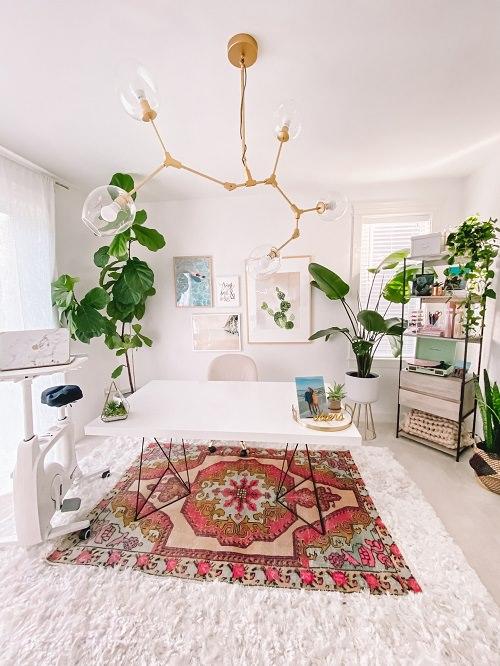Boho Minimalist Office Inspiration 1