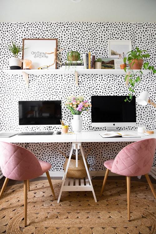 Boho Minimalist Office Inspiration 2