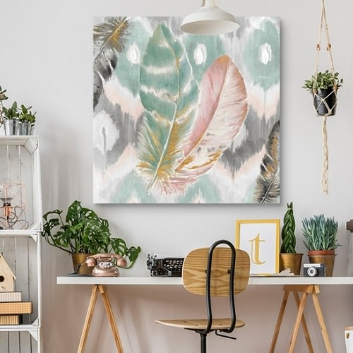 12. Tranquil Boho Chic Space