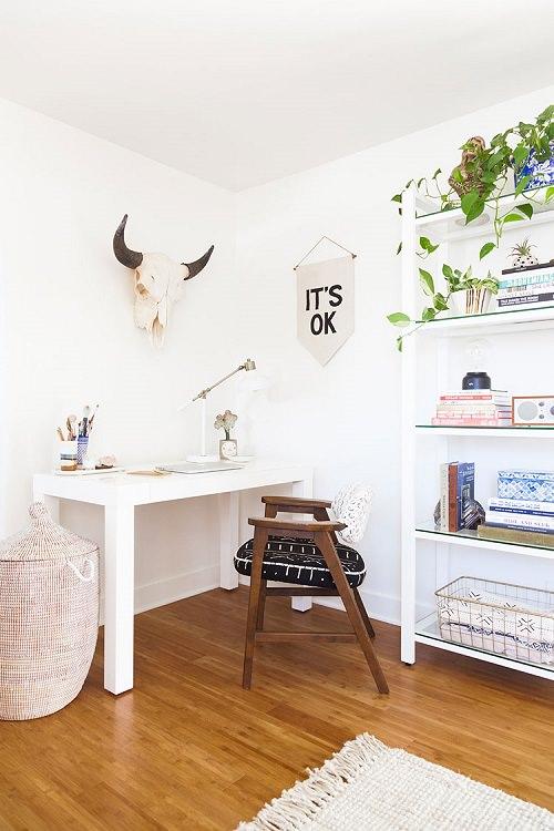 Boho Minimalist Office Inspiration 4