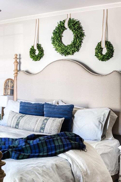 Blue Neutral Christmas Decor