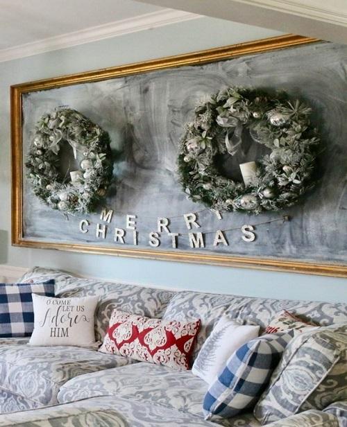 Pretty Christmas Living Room Ideas4